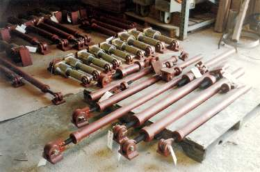 Specially Fabricated Sway Struts and Mechanical Snubbers