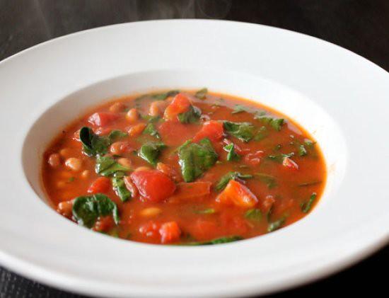 tomato-bean-soup