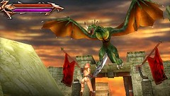 Tehra Dark Warrior for PSP and PS3 (PlayStation mini)
