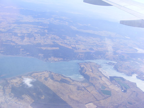 Tamar River from the Air