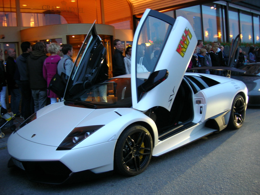 Lamborghini for the KISS in Stockholm - 2
