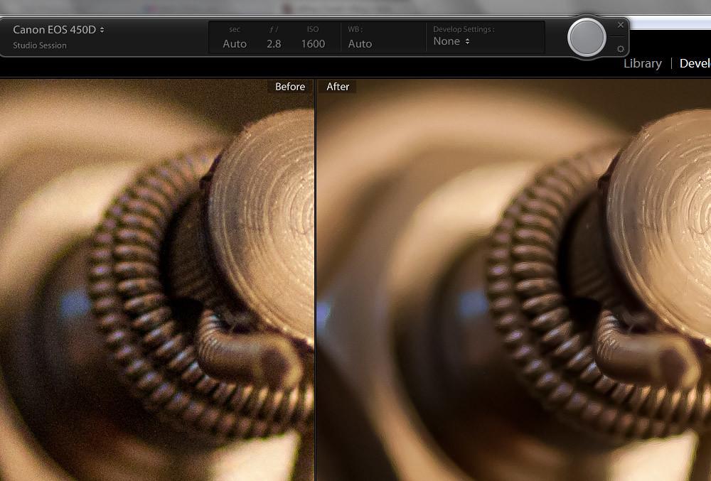 Adobe Lightroom 3: Noise Reduction