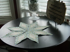 Eight Point Star (KMQuilts) Tags: diamonds timber howto avalanden