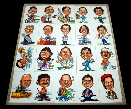 Caricatures for NUS -first batch - 3