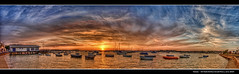 198/365 - HDRPano - UK.Poole.Harbour.Sunset.@.1400x454.HQ (Pawel Tomaszewicz) Tags: camera new uk sunset wallpaper england sky panorama colors beautiful clouds photoshop canon photography eos bay photo europe foto view angle image photos harbour pano wide creative picture wideangle ps images x dorset gb 1200 fotografia 800 hdr sandbanks poole fable hdri anglia aparat iphone pawel ipad chmury 3xp photomatix greatphotographers wyspa wyspy eos400d 1200x800 fotografowie polscy tomaszewicz paweltomaszewicz