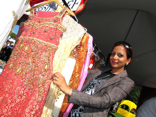 Sawan Mela South Asian Summer Festival, Mandy and her partyware dresses at Criminal Eyes - www.criminaleyes.ca
