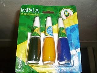 impala brasileirinha cores do brasil
