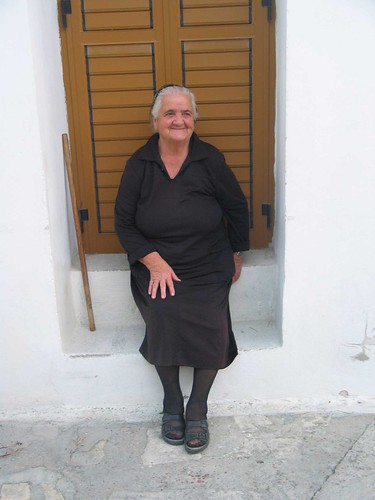 village_greek_woman