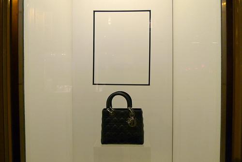 Vitrines Dior Parcours Saint Germain - Paris, juin 2010