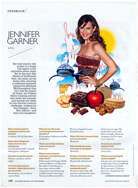 Jennifer Garner Bon Appetit 2009-05 by Eudaemonius