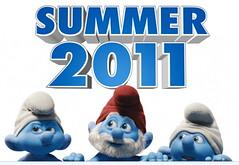 100617(1) - 經典卡通《藍色小精靈 The Smurfs》的好萊塢3D-立體電影版公開第一支預告片,並預定2011年8月6日在台灣首映!
