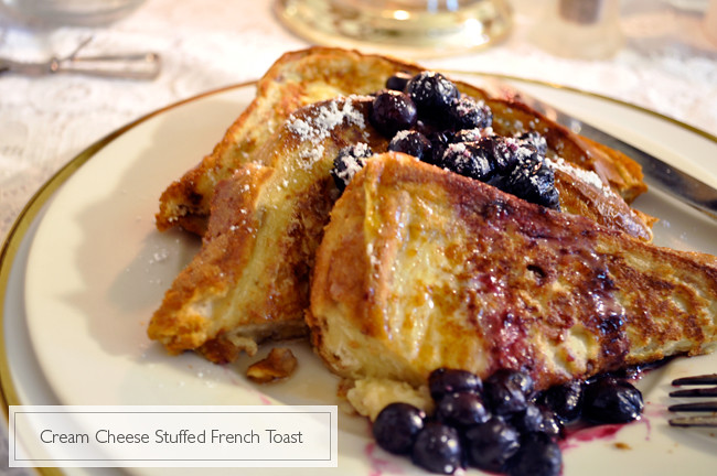 how to make stuffed french toast filling