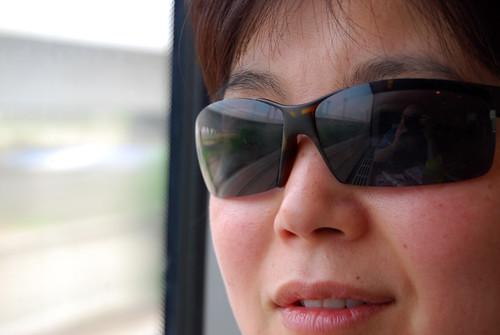 j4 - Chunlin on the Train in Chángzhōu