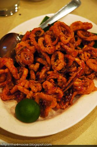 Pow Sing Restaurant 報喜 - Nonya Crispy Squid