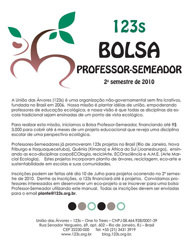 Bolsa Professor-Semeador