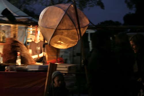 giant lantern