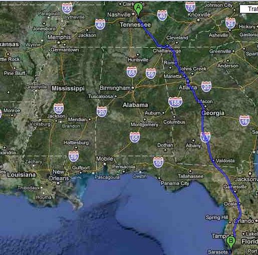 Day Map Fri 19 Jun 2010