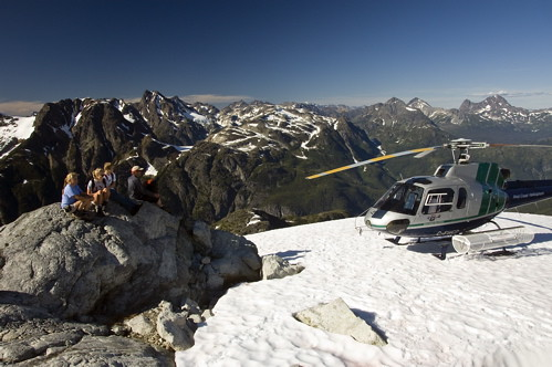 Arriving in the Alpine / Photo by Michael Wigle