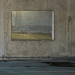 Alone at Exhibition (Olli Keklinen) Tags: abstract color photoshop suomi finland square concrete helsinki nikon 100v10f parkinghouse 2010 malmi d300 500x500 ok6 ollik 20100620