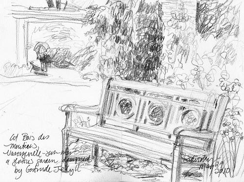 Normandy gardens: Bois de Moutiers