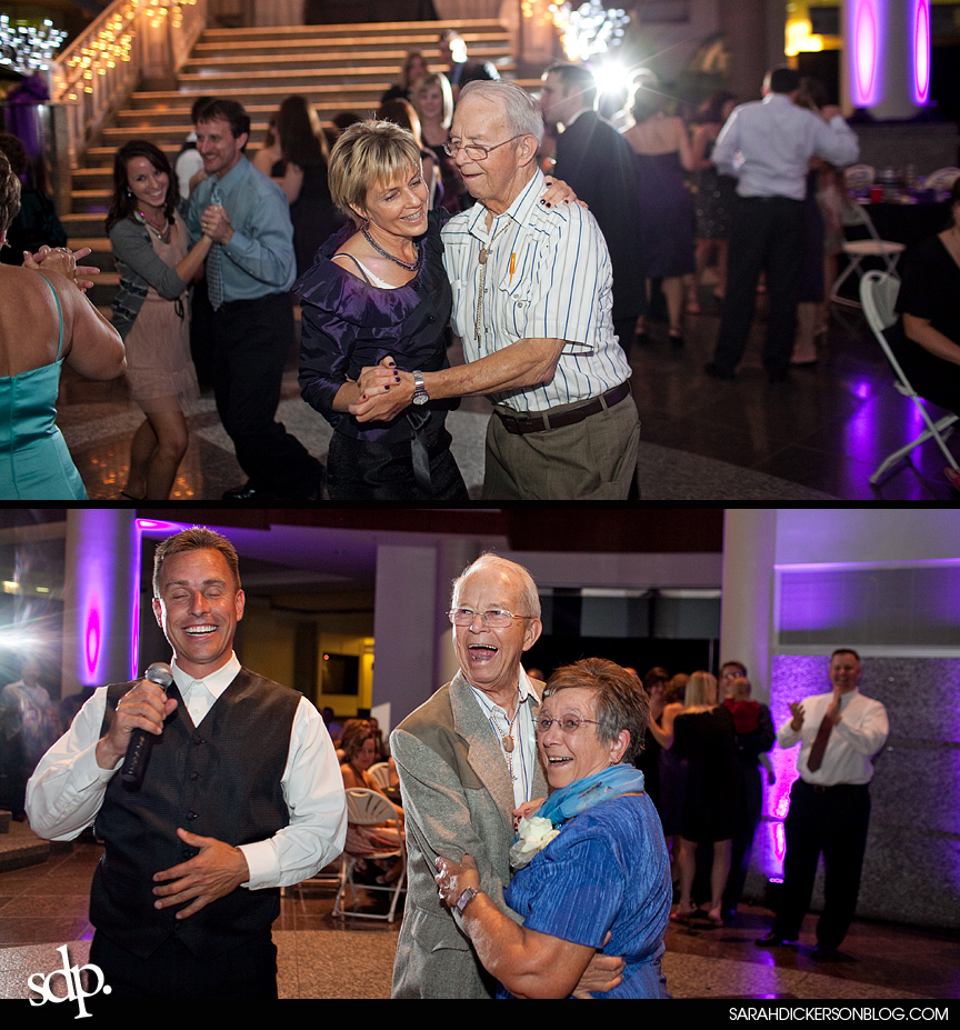 Town Pavilion Kansas City wedding reception photography