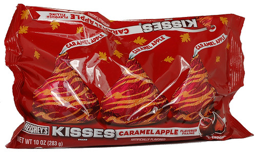 Hershey's Kisses Caramel Apple Packaging