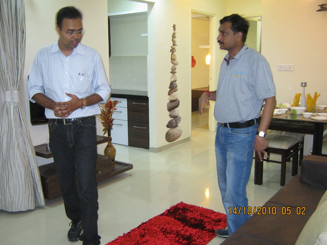 Vastushodh's UrbanGram, 2 BHK Flat for Rs. 20 Lakhs at Kondhawe Dhawade Pune 411 023 - on the eve of launch, 14th October 2010IMG_3389