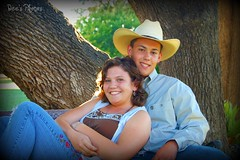 young love (~Dee~37) Tags: boy tree love girl smile cowboy couple texas country young cowboyhat killeentx