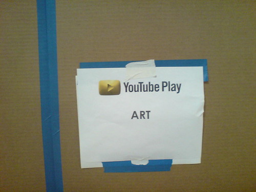 YouTube Play - Art