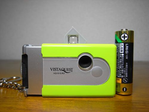 小さなトイデジ『VQ1015 R2(Vista Quest)』レビュー