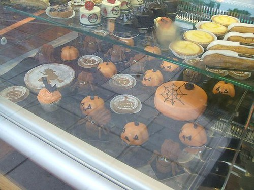 Hallowe'en window display