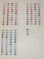 S.a.l. Dmc color card - October