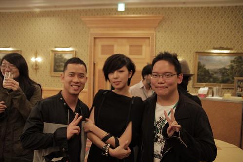 Meeting Lin Zaizai again in Tokyo