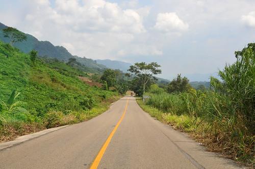 Driving in Chiapas