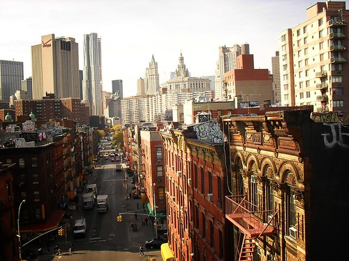 View of Chinatown from the Manhattan Bridge 11