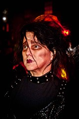 Best of Halloween #16 (Jeniece Primus Photography) Tags: nyc newyorkcity halloween skeleton death costume scary westvillage parade horror terror mementomori monsters greenwichvillage edwardscissorhands