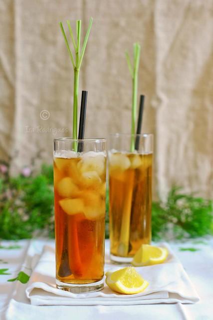 Lemongrass ice tea