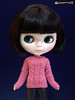 Blythe in pink hand knitted sweater (Hegemony77 - 1/6th scale unique quality clothes fo) Tags: pink sweater doll dolls hand handmade blythe etsy knitted custom fashiondoll dollclothes ตุ๊กตา dollfashion 16scaledoll hegemony77