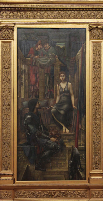 King Cophetua and the Beggar Maid, Edward Coley burne-Jones, 1884