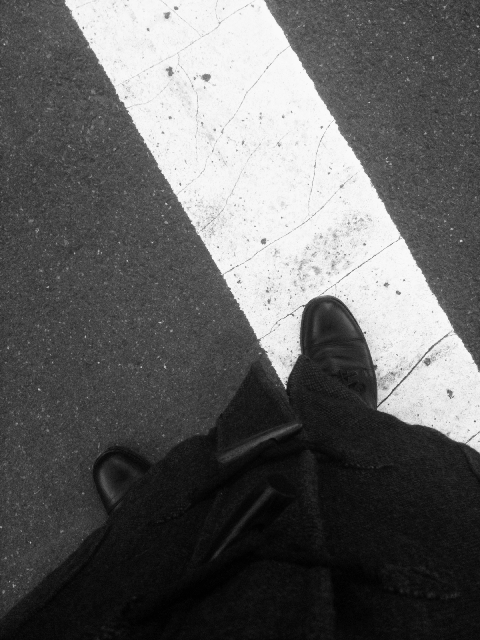 standing #walkingtoworktoday