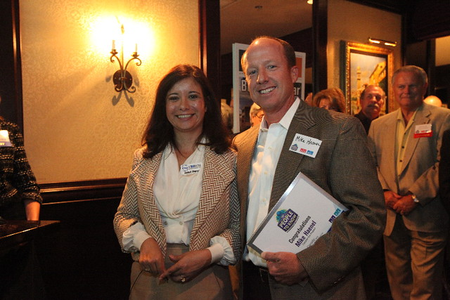 Honoree Mike Haenel at AZRE's Top People to Know Recognition Reception
