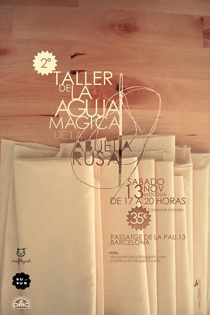 2º Taller de la aguja mágica en Duduá
