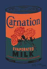 Colored Carnation Milk Can 12 (EYE POP) Tags: nyc newyorkcity ny newyork art museum painting soup milk manhattan moma museumofmodernart popart andywarhol warhol colored gothamist cans carnation campbells limitededition campbellssoup soupcans peterpotamus eyepop campbellssoupcans 32campbellssoupcans 32soupcans