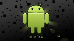 Android Wallpaper - I'm the Future