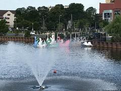 Wesley Lake (tmrae) Tags: jerseyshore newjersey wesleylake asburypark oceangrove swanboats