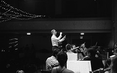 String Orchestra of Brooklyn (triebensee) Tags: berggerpancro400 rodinal 125 adox epsonv700 selfdeveloped film canonet ql 40mm f17 ql17