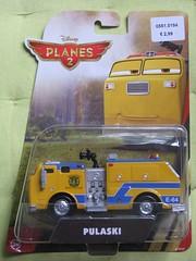 Pulaski (streamer020nl) Tags: pulaski pixar disney planes 2 china plastic metal diecast film movie 2014 yellow geel