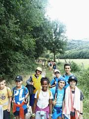 Día 6 . Volvemos de la acampada fresquitos después de un chapuzón en el río