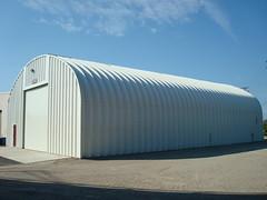 SteelMaster Steel Prefabricated Military Storage