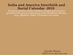 India and America Interfaith and Social Calendar 2010 Full Year